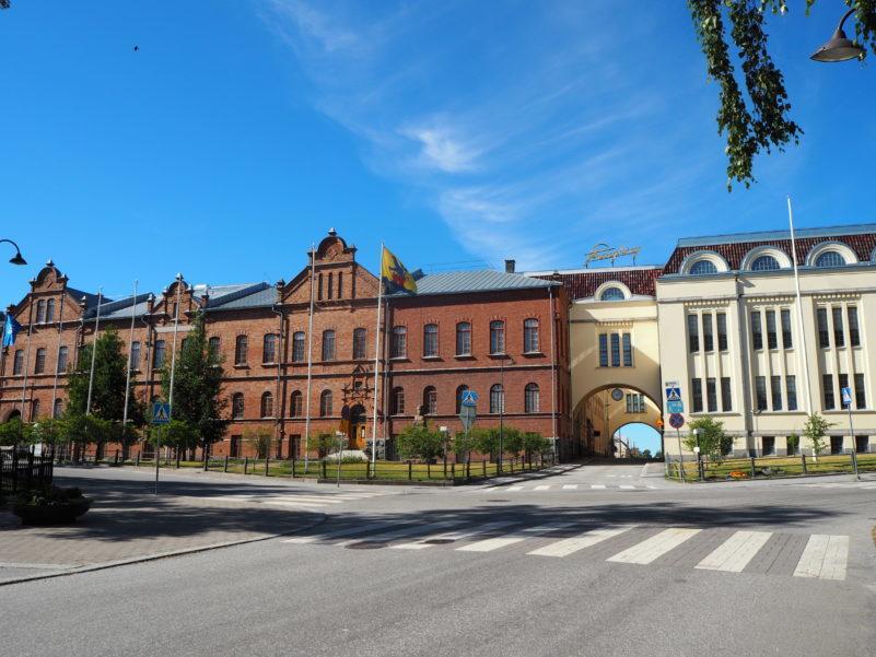 Videohälsning från soliga Jakobstad