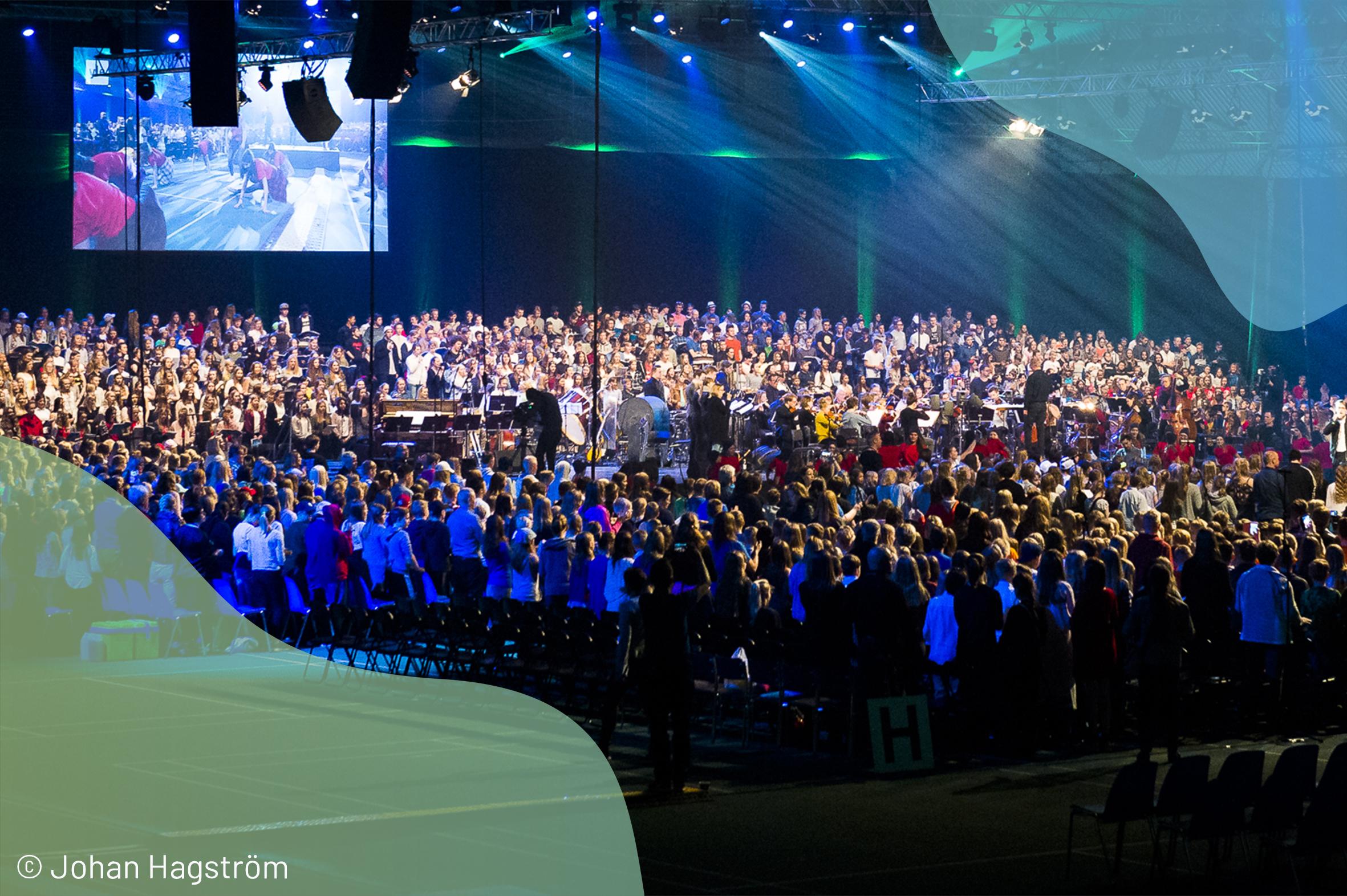 Skolmusik ordnas 6-8.5.2021 i Jakobstad